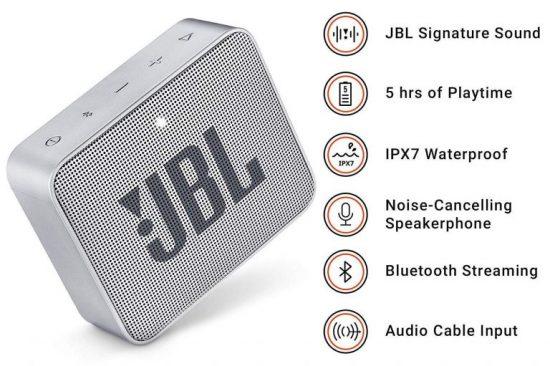 JBL GO 2 altavoz diminuto