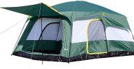 Refugio de acampada carpa