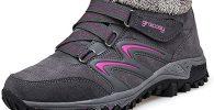 Comprar Botas de Nieve Senderismo Antideslizantes Trekking Zapatos Invierno Transpirables